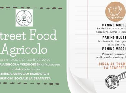 Street Food Agricolo con birra artigianale Euka bio e Gluten Free e panini a Km0 – Sabato 1 Agosto alle ore 18
