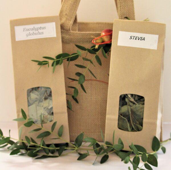 Idea Regalo Stevia e Eucalipto Essiccati - Oligea