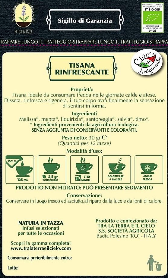 TISANA RINFRESCANTE