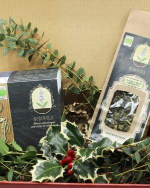 Idee regalo bio tisane natura in tazza – confezioni regalo - Oligea