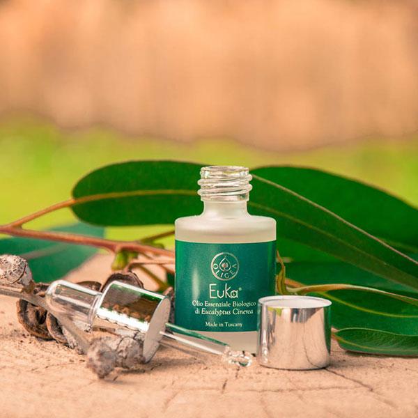 Olio essenziale di eucalipto biologico – linea euka –Oligea
