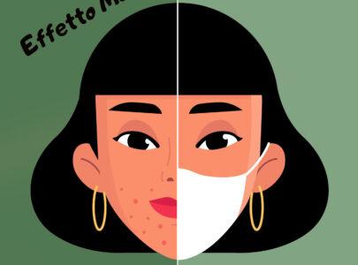 Maskne o Acne da Mascherina: cos'è e i consigli per proteggere la pelle